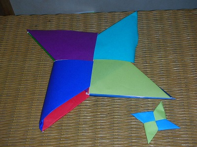 大きな折り紙を作ろう!