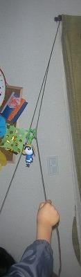 上にのぼるよ♪人形